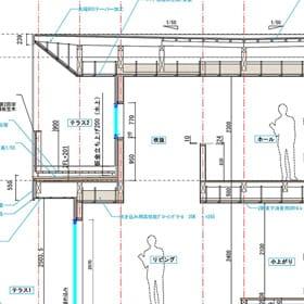 矩計図で建築全体の仕様を記載