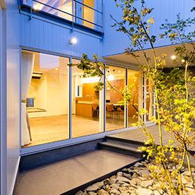 竣工時の新築住宅外観