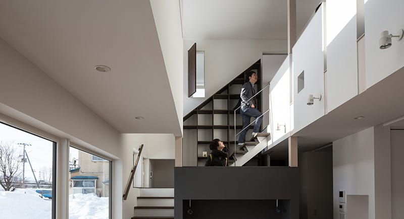 House with Mezzanine
