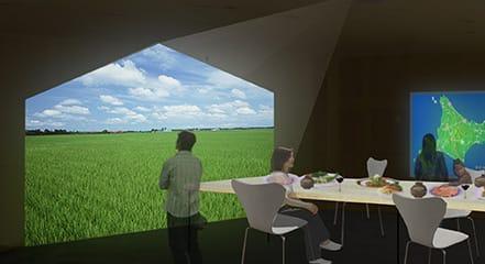 地産地消を促す場所の力を高めるレストランの計画