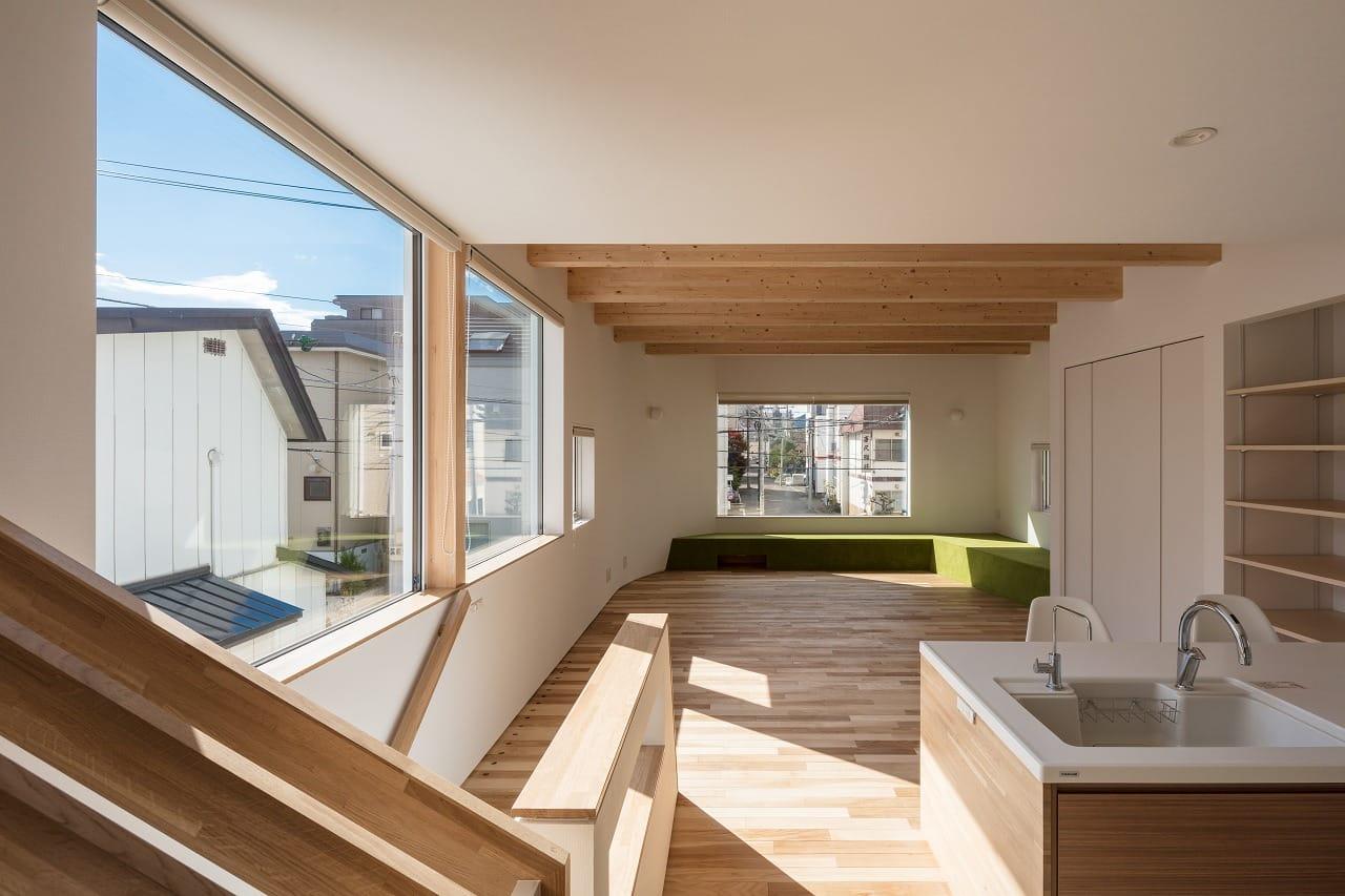 キラリと光る北の建築 2017に「T字路の家」が出展されています。