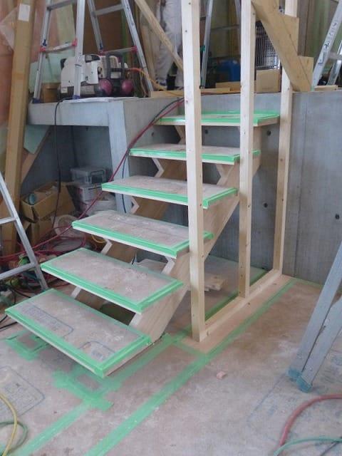 階段 スキップフロア 富谷洋介建築設計