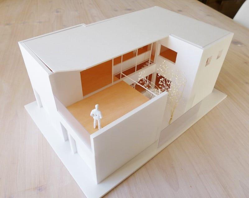 2階リビング模型