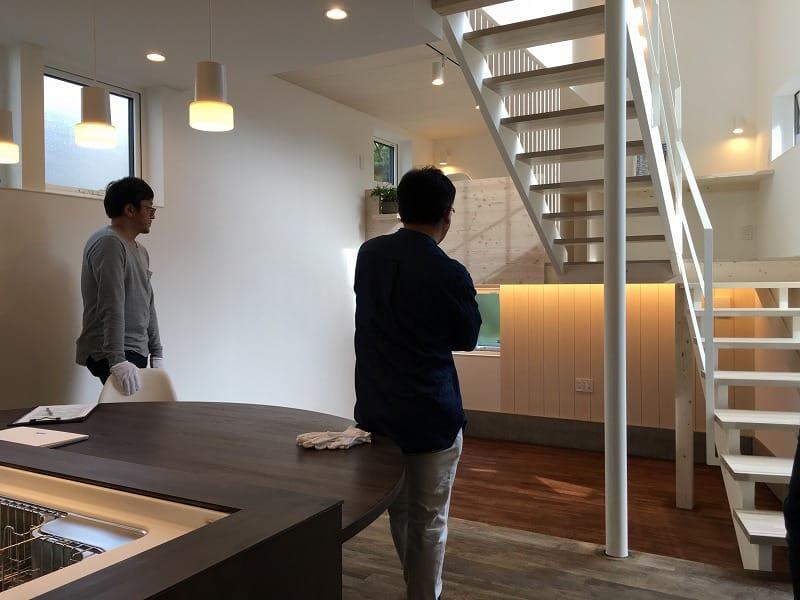 オープンハウスを終了しました【札幌市北区の住宅】