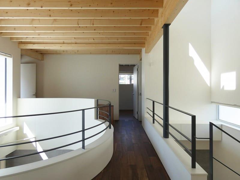 集光の家 二階ブリッジ