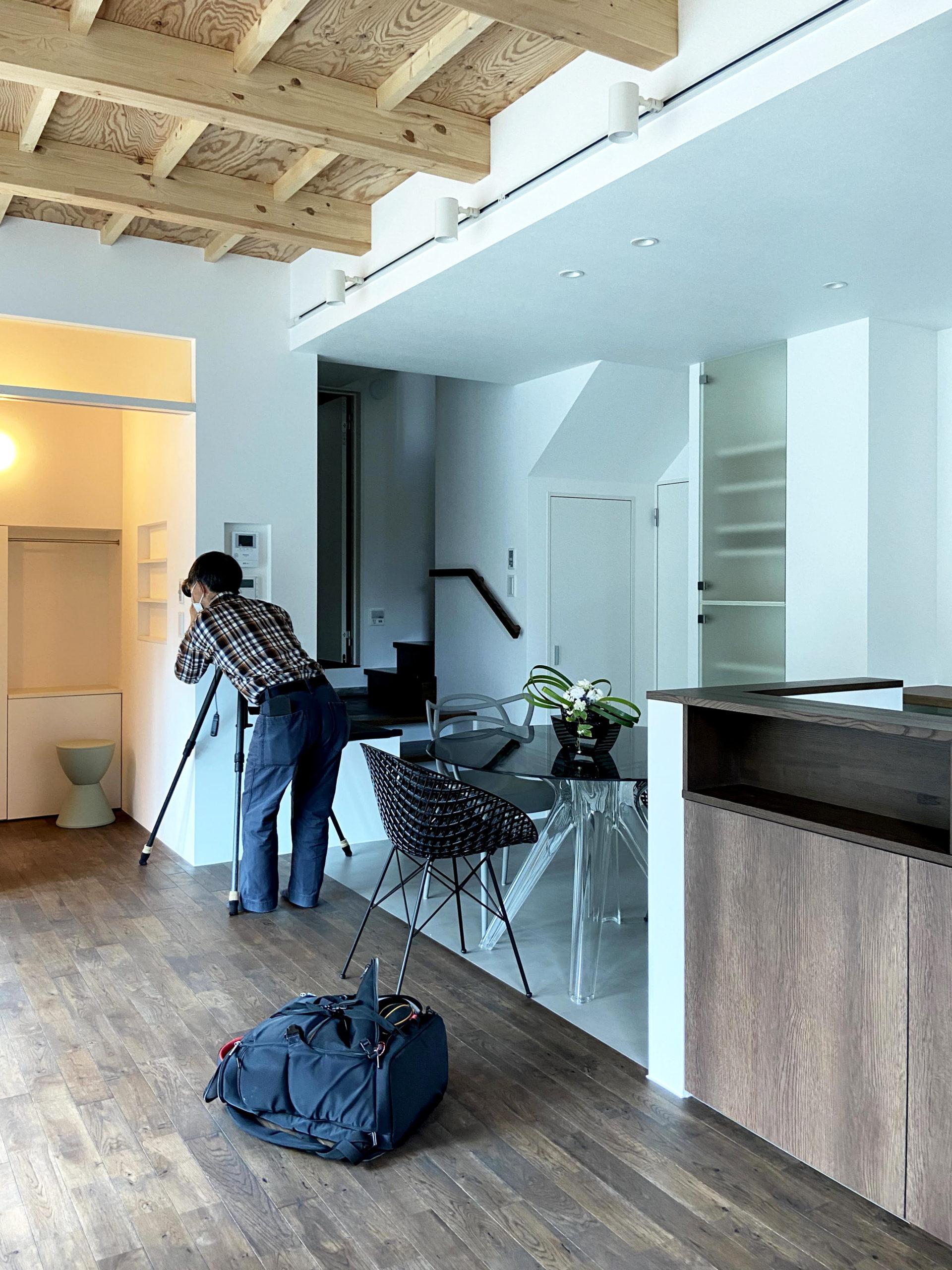 二世帯住宅プロジェクト、お引渡し・撮影